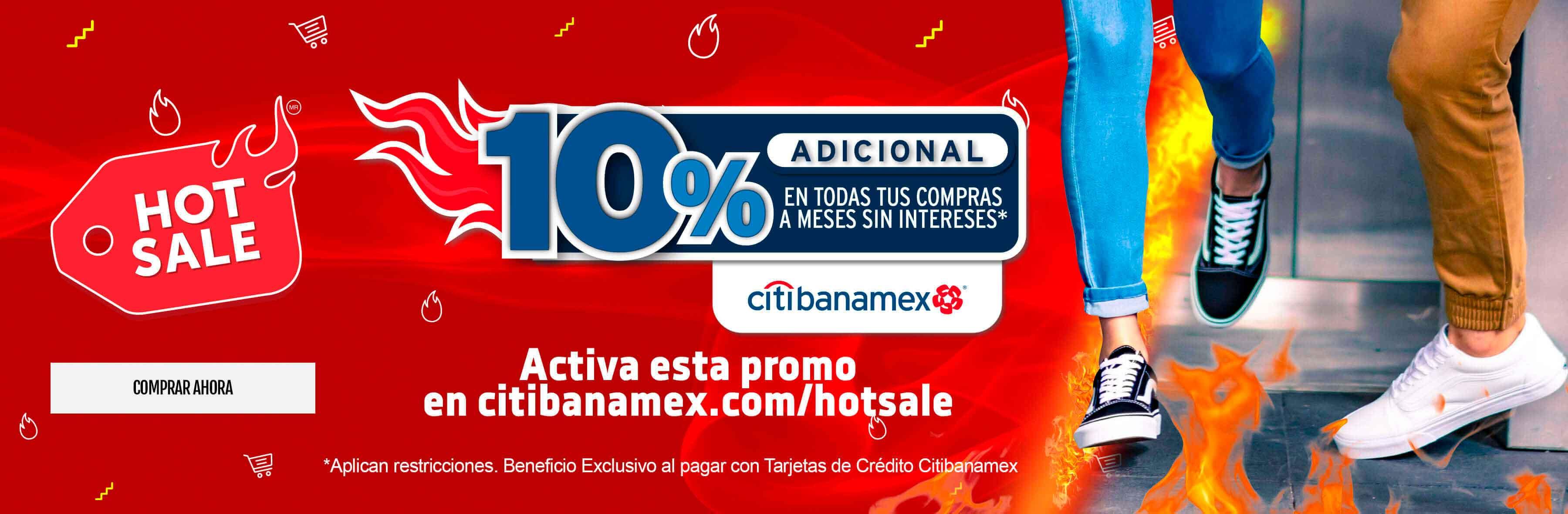 Banamex 10% de descuento