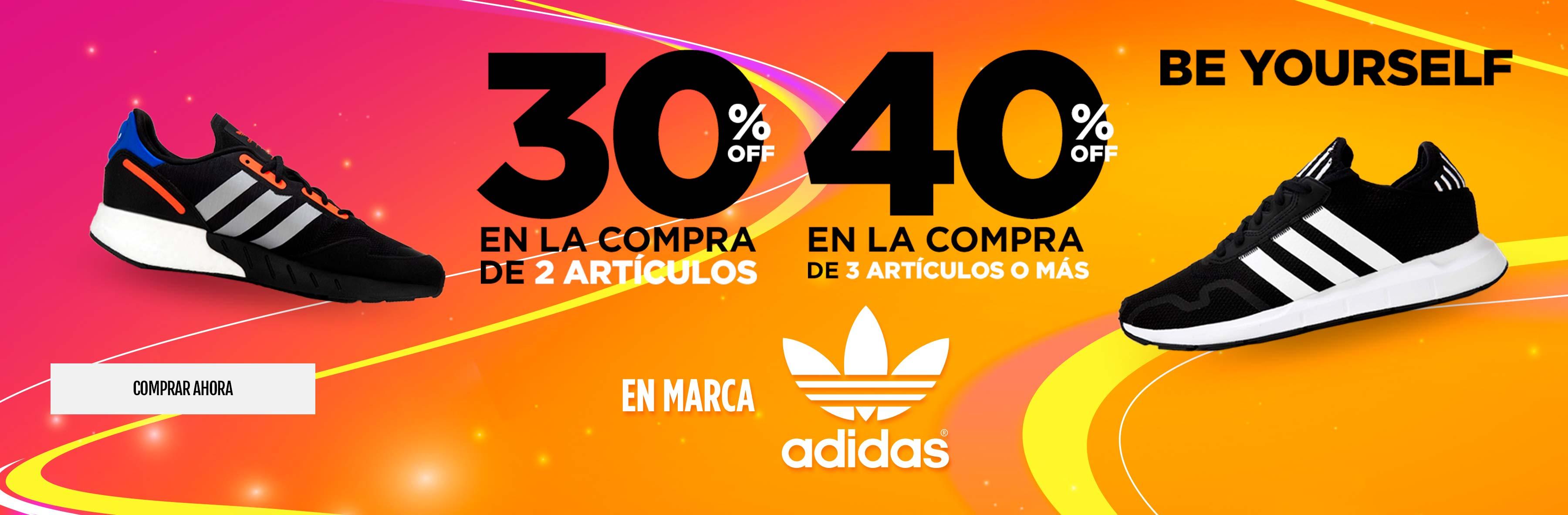 ESCALONADA ADIDAS 30% / 40%