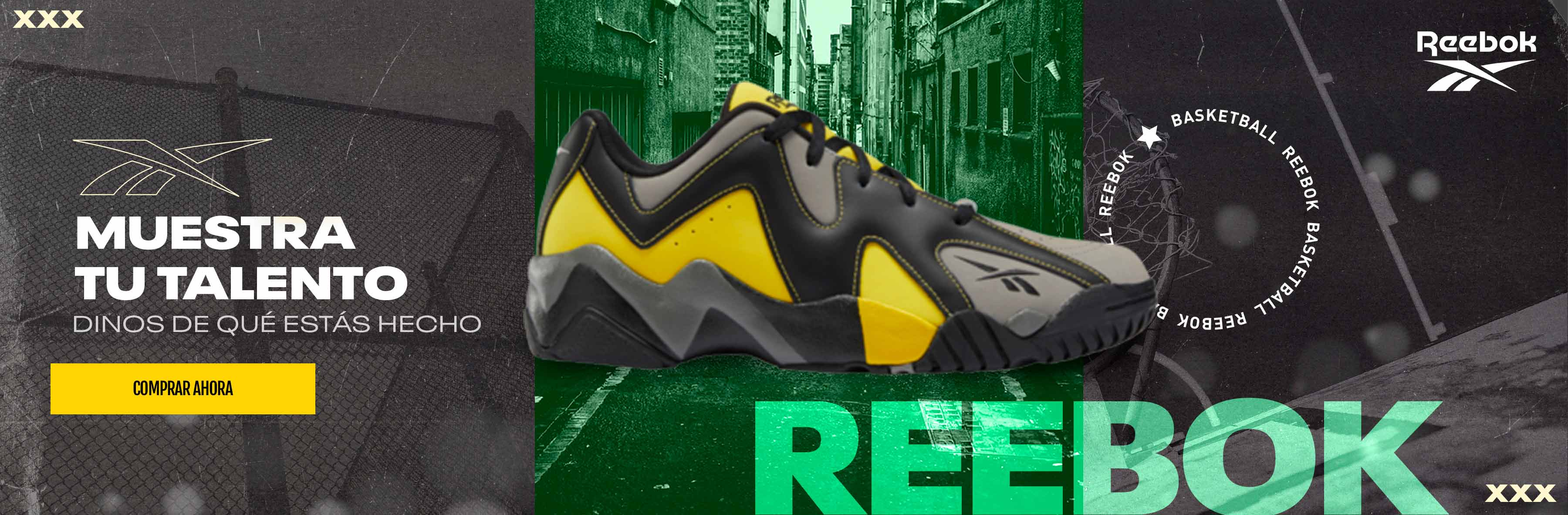 REEBOK ALERT YELLOW