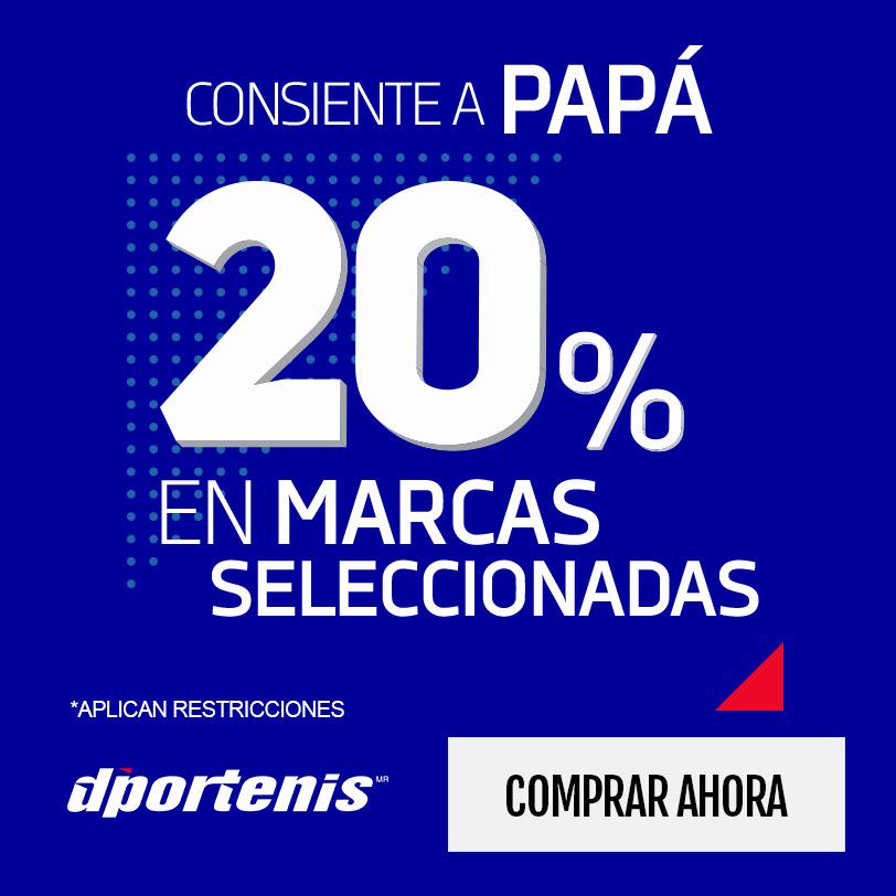 20% en marcas seleccionadas