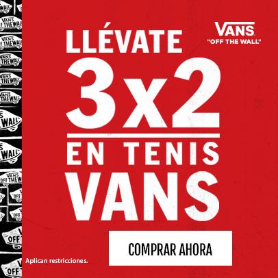 3x2 en VANS