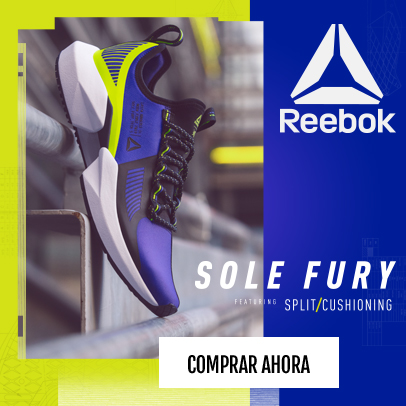 Sole Fury Reebok