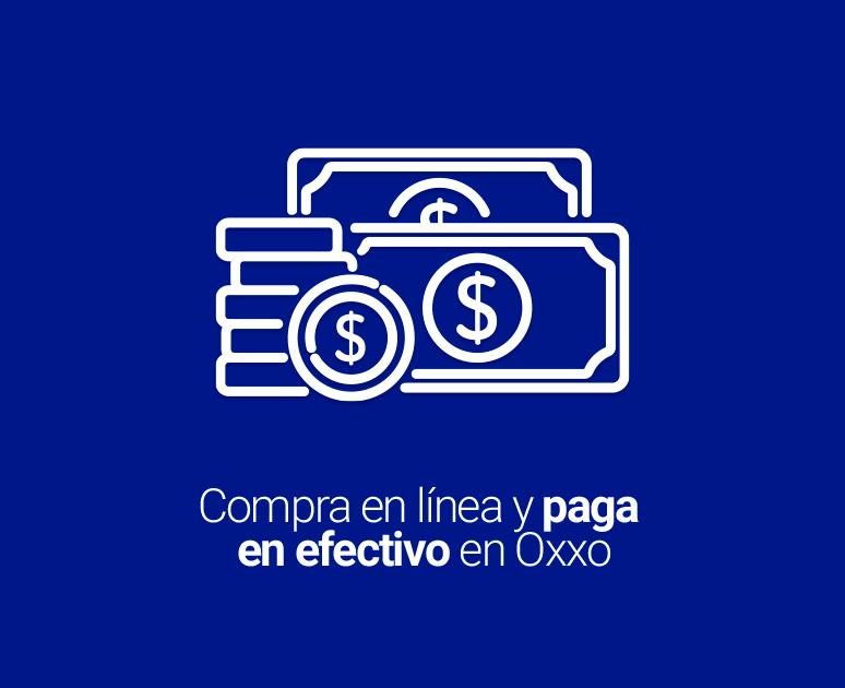 Paga en efectivo