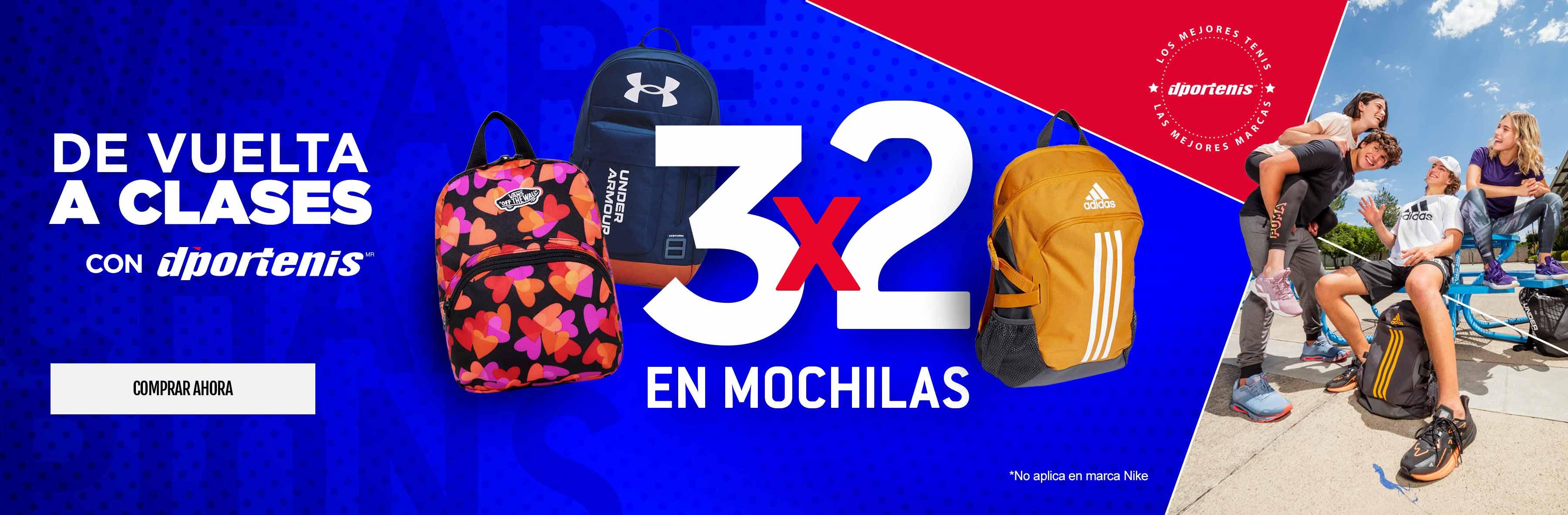 3X2 MOCHILAS