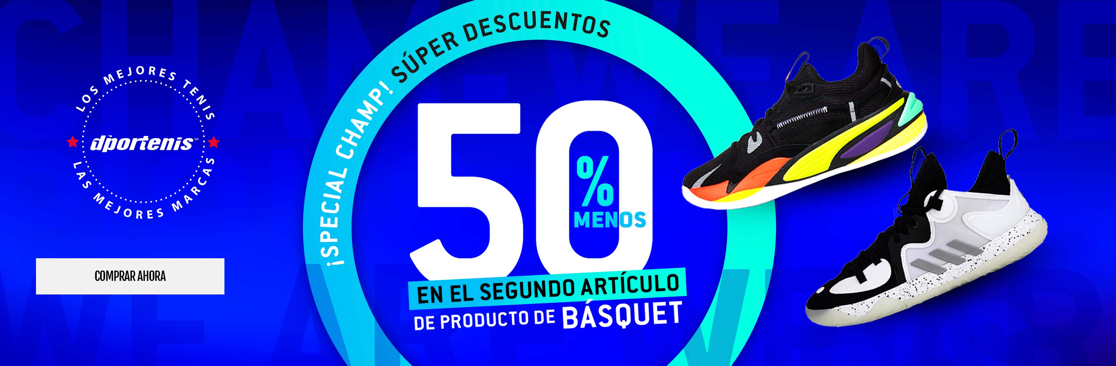 50% SEGUNDO ARTICULO BASQUETBOL